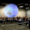 DROPPS Global Platform for Ocean Research: NOAA's Science on a Sphere